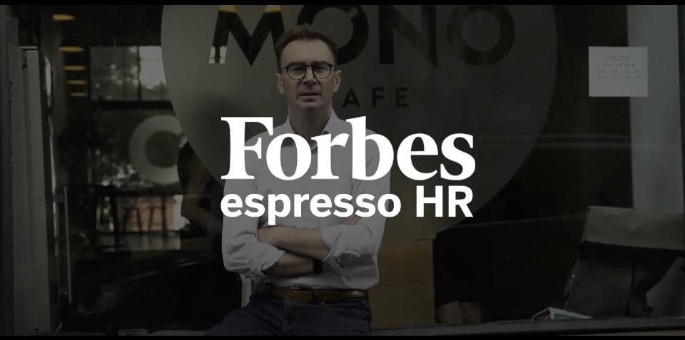 Forbes espresso HR Igor Tóth